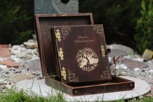 Albumy drewniane dodatki