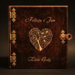 album drewniany fotograficzny