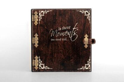 album drewniany